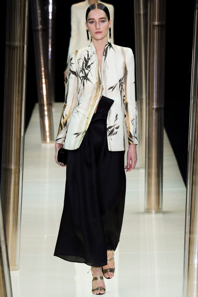 Armani Privé Haute Couture SS 2015 Paris
