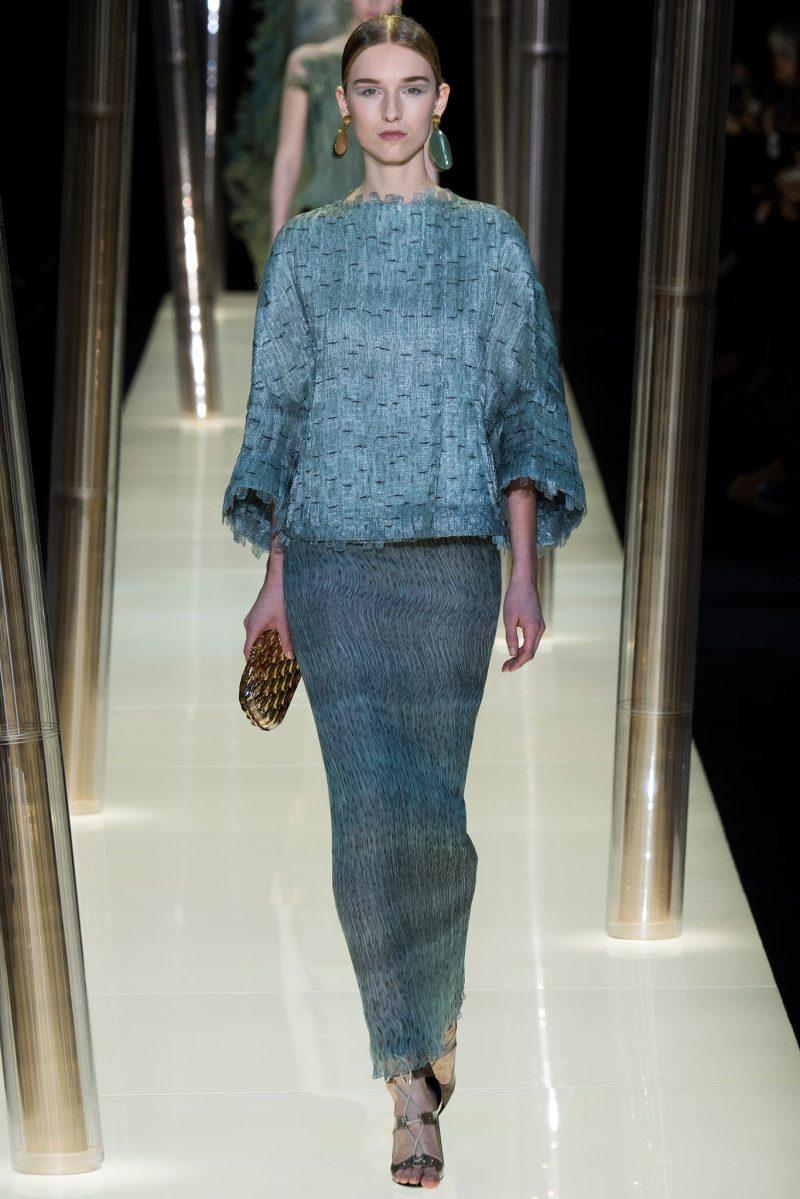 Armani Privé Haute Couture SS 2015 Paris (20)