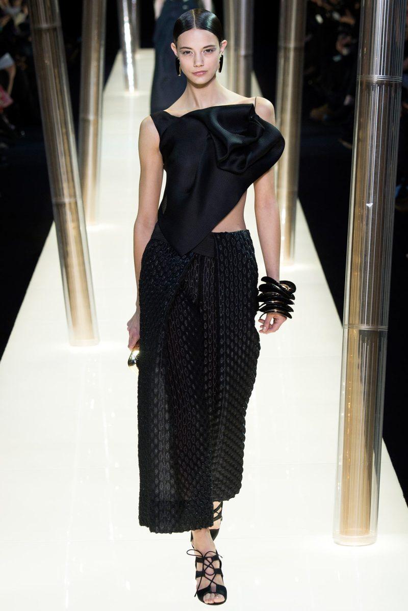 Armani Privé Haute Couture SS 2015 Paris (25)