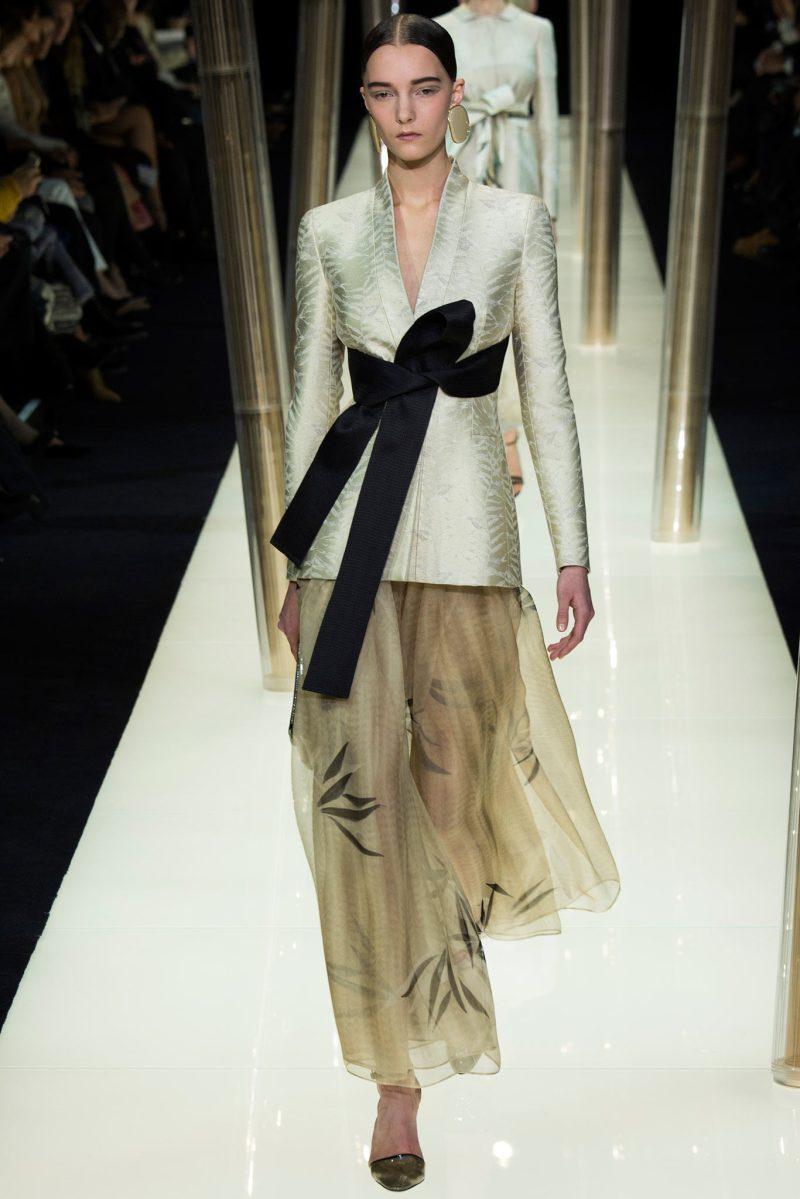 Armani Privé Haute Couture SS 2015 Paris (7)
