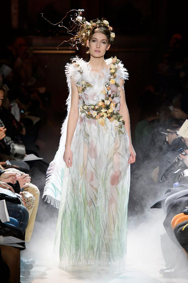 Franck Sorbier Haute Couture SS 2015 Paris (16)