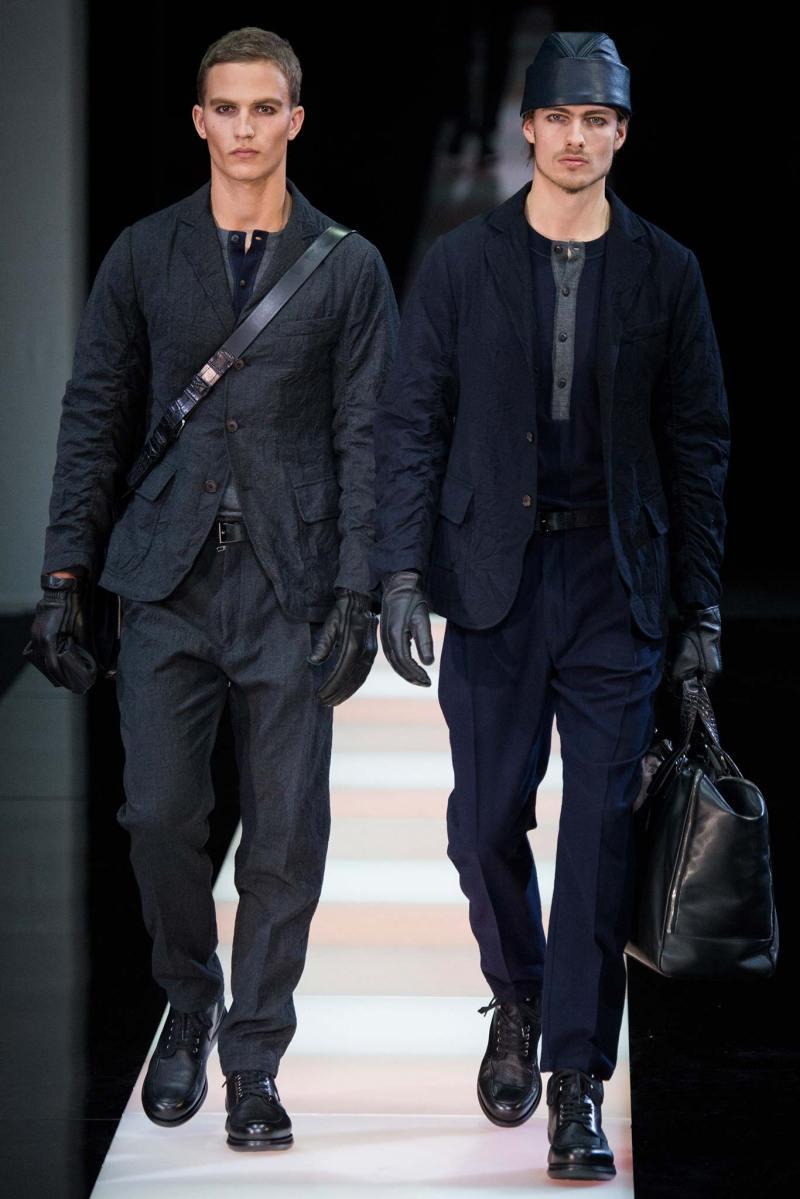 Giorgio Armani Menswear FW 2015 Milan (33)