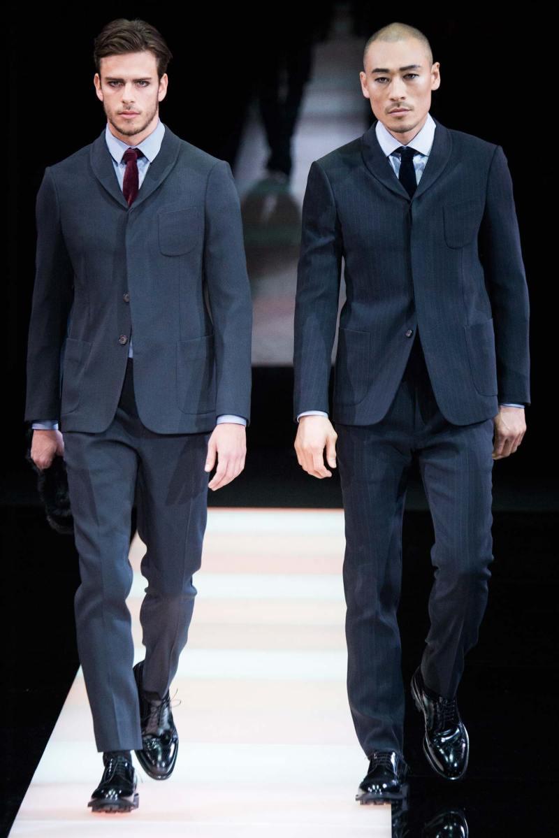 Giorgio Armani Menswear FW 2015 Milan (49)