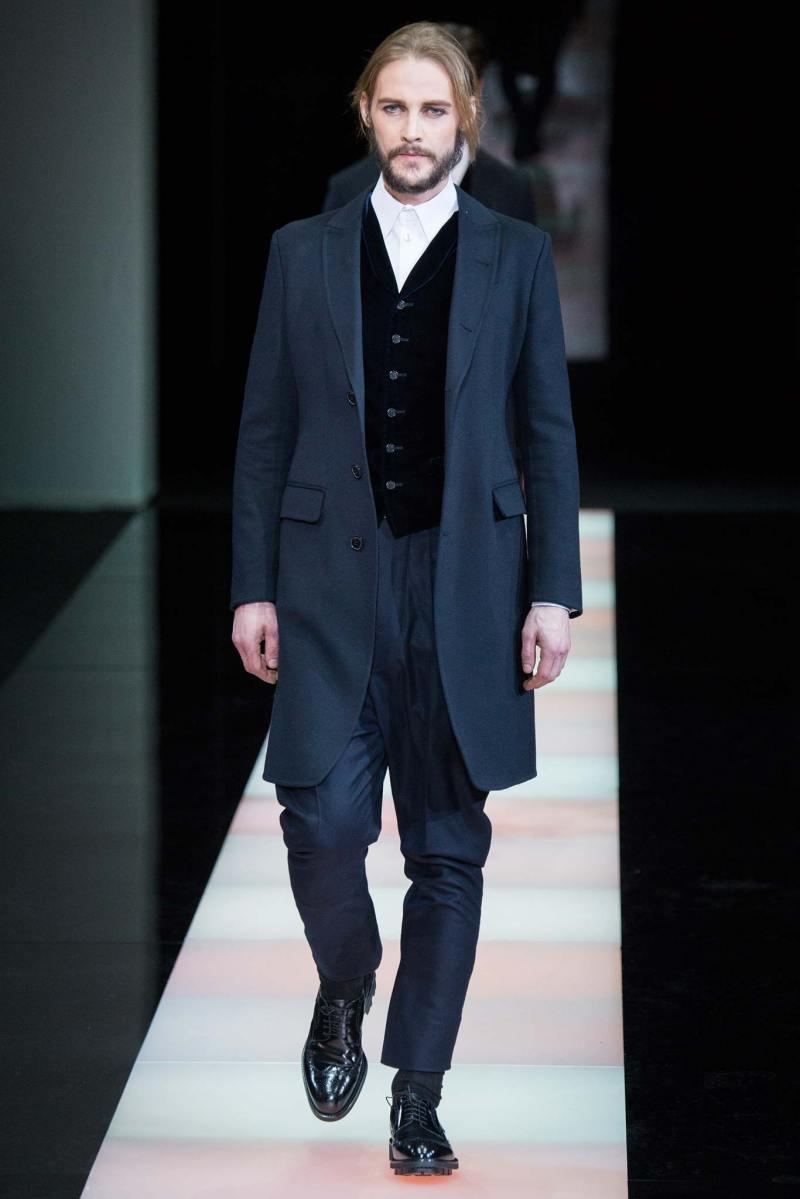 Giorgio Armani Menswear FW 2015 Milan (50)