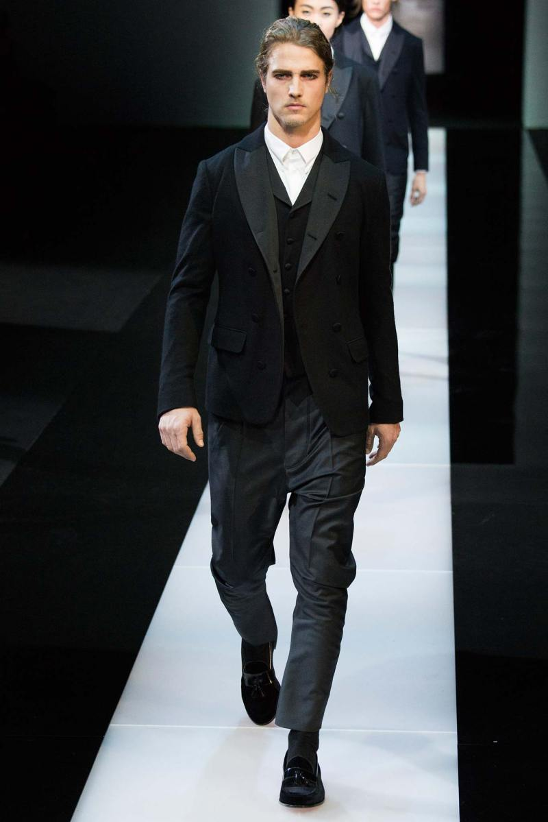 Giorgio Armani Menswear FW 2015 Milan (54)