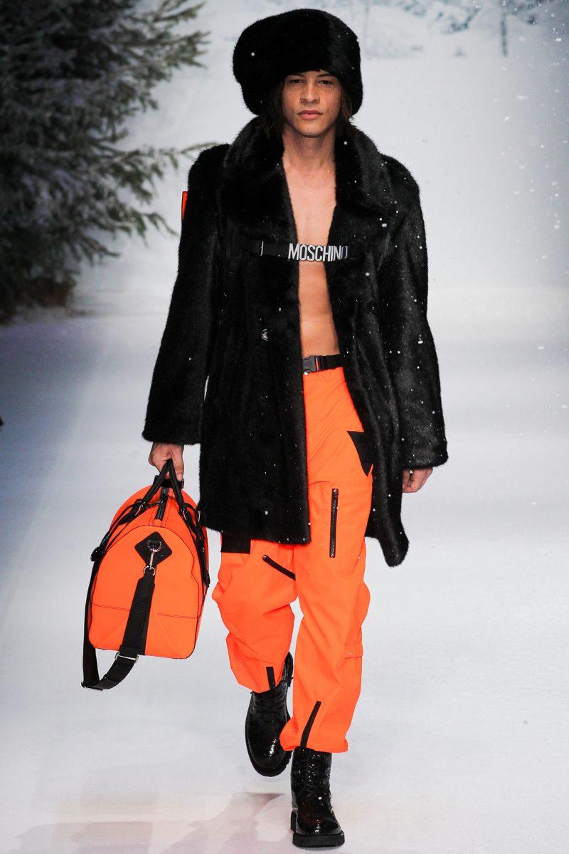 Moschino Menswear FW 2015