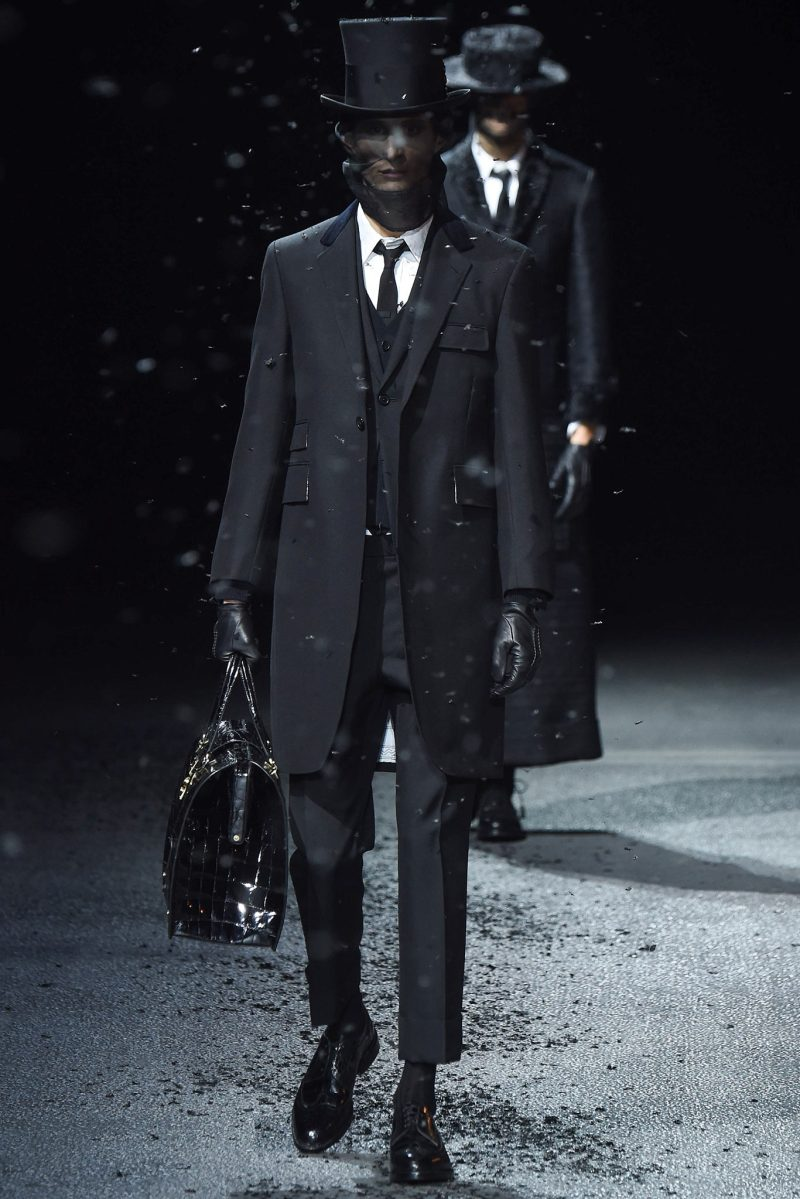 Thom Browne Menswear FW 2015 Paris (1)