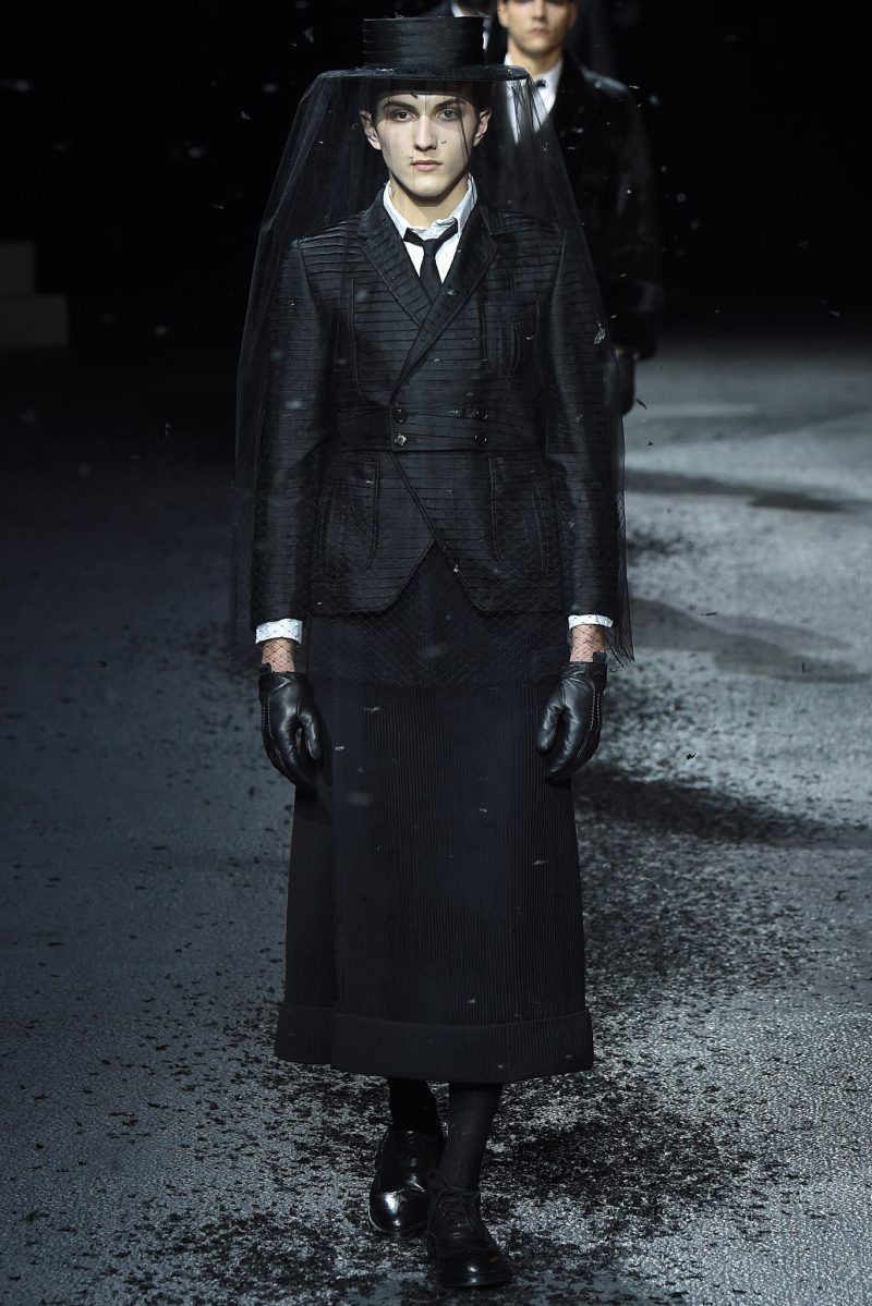 Thom Browne Menswear FW 2015 Paris (23)
