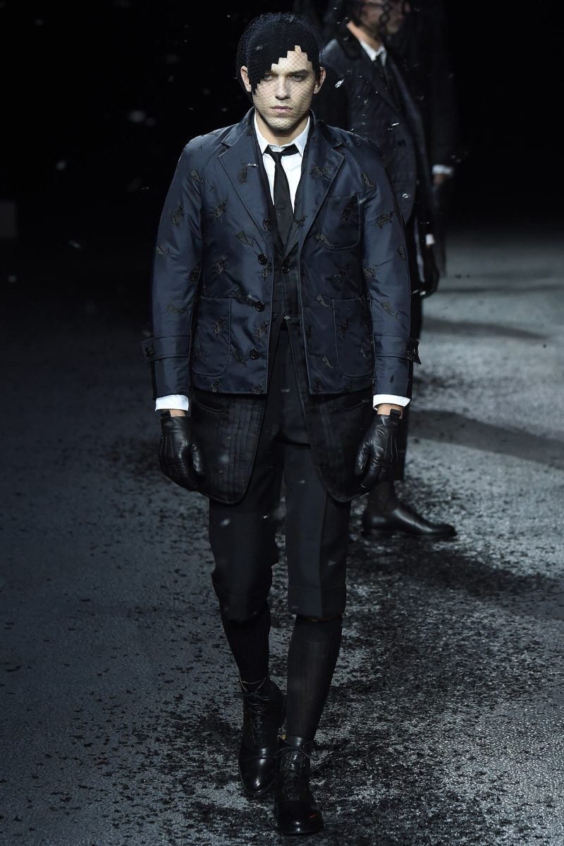 Thom Browne Menswear FW 2015 Paris (27)