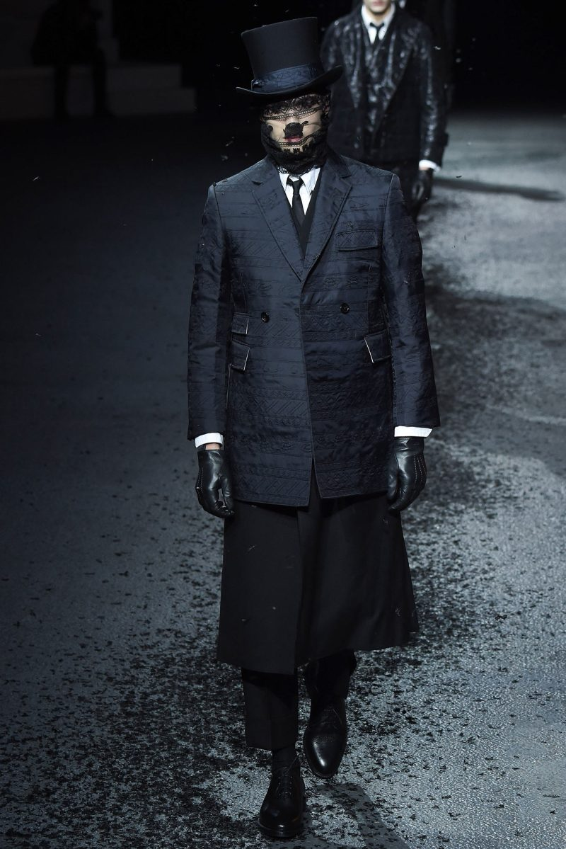 Thom Browne Menswear FW 2015 Paris (37)