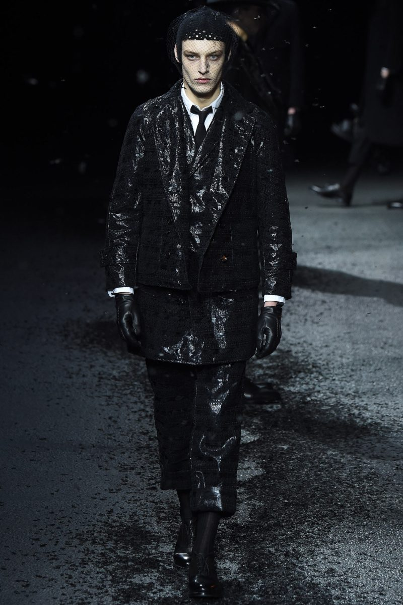 Thom Browne Menswear FW 2015 Paris (38)