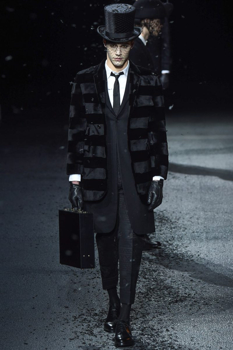 Thom Browne Menswear FW 2015 Paris (4)