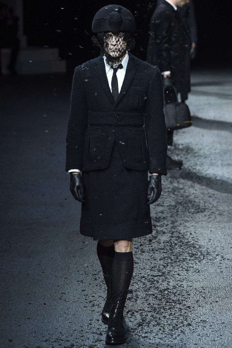 Thom Browne Menswear FW 2015 Paris (5)