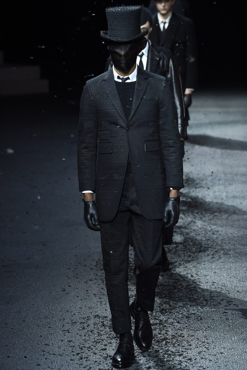 Thom Browne Menswear FW 2015 Paris (7)