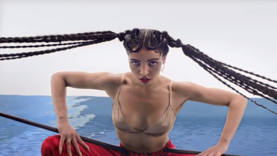FKA Twigs Pendulum music video still