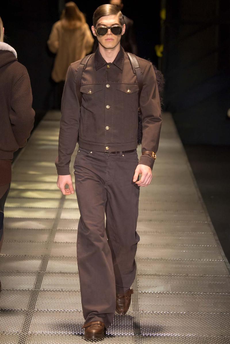 Versace Menswear FW 2015 Milan (41)
