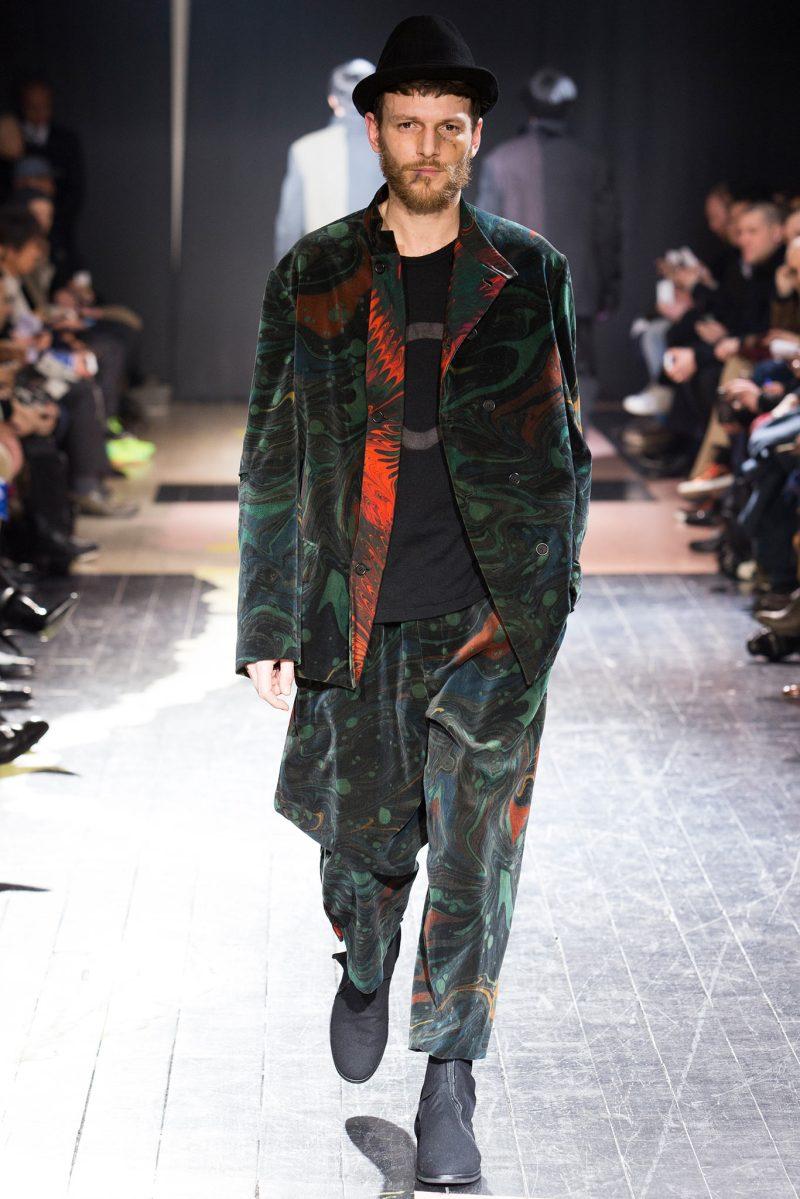 Yohji Yamamoto Menswear FW 2015 Paris (13)