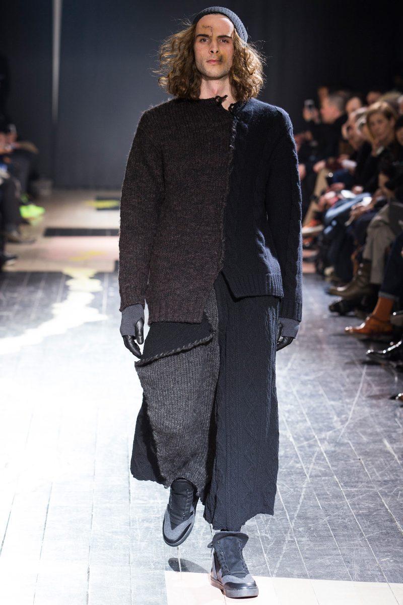 Yohji Yamamoto Menswear FW 2015 Paris (16)