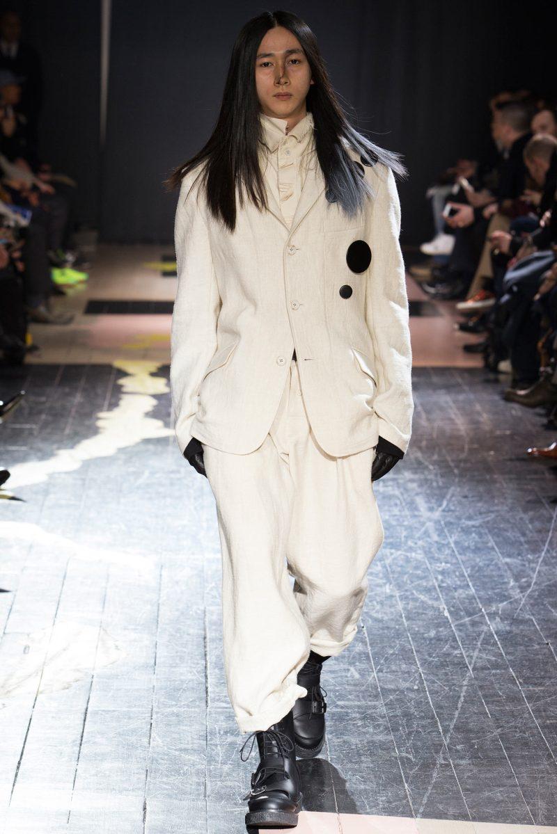 Yohji Yamamoto Menswear FW 2015 Paris (2)