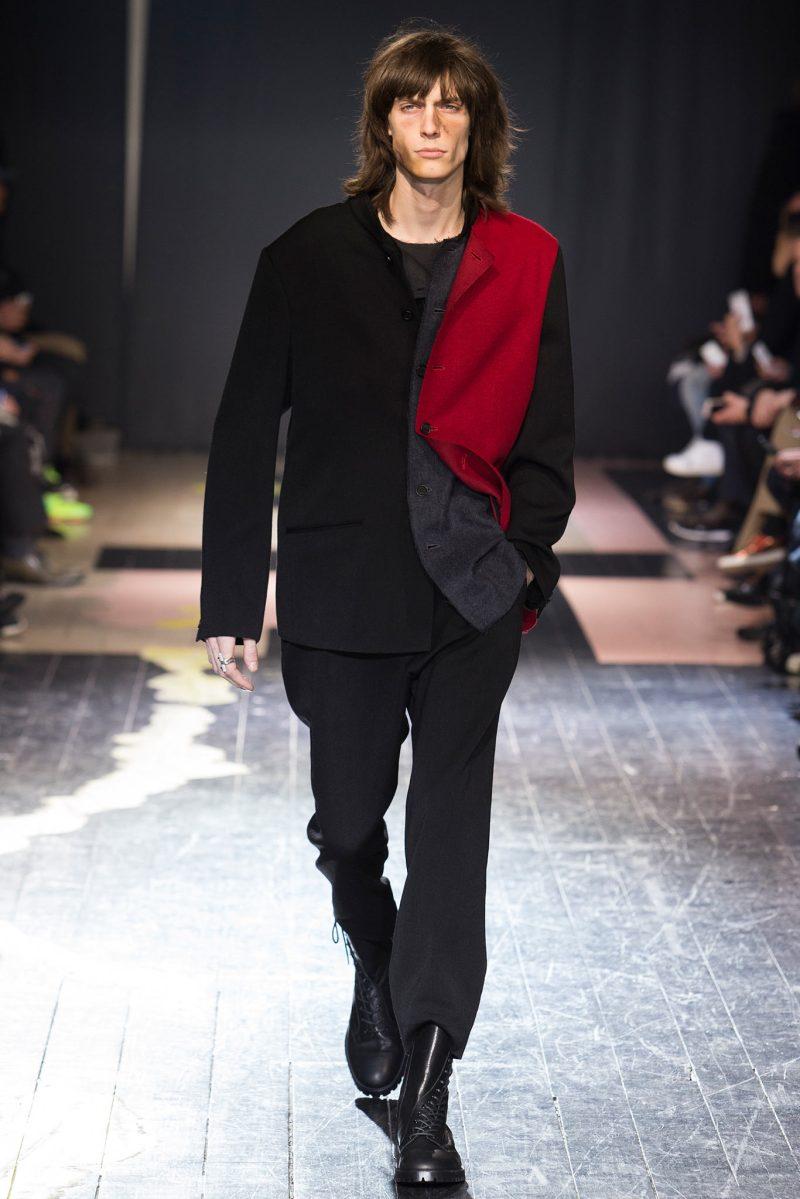 Yohji Yamamoto Menswear FW 2015 Paris (22)