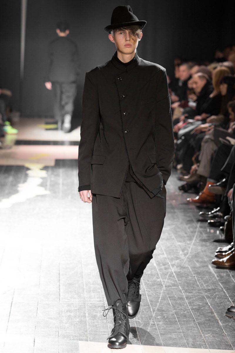 Yohji Yamamoto Menswear FW 2015 Paris (31)