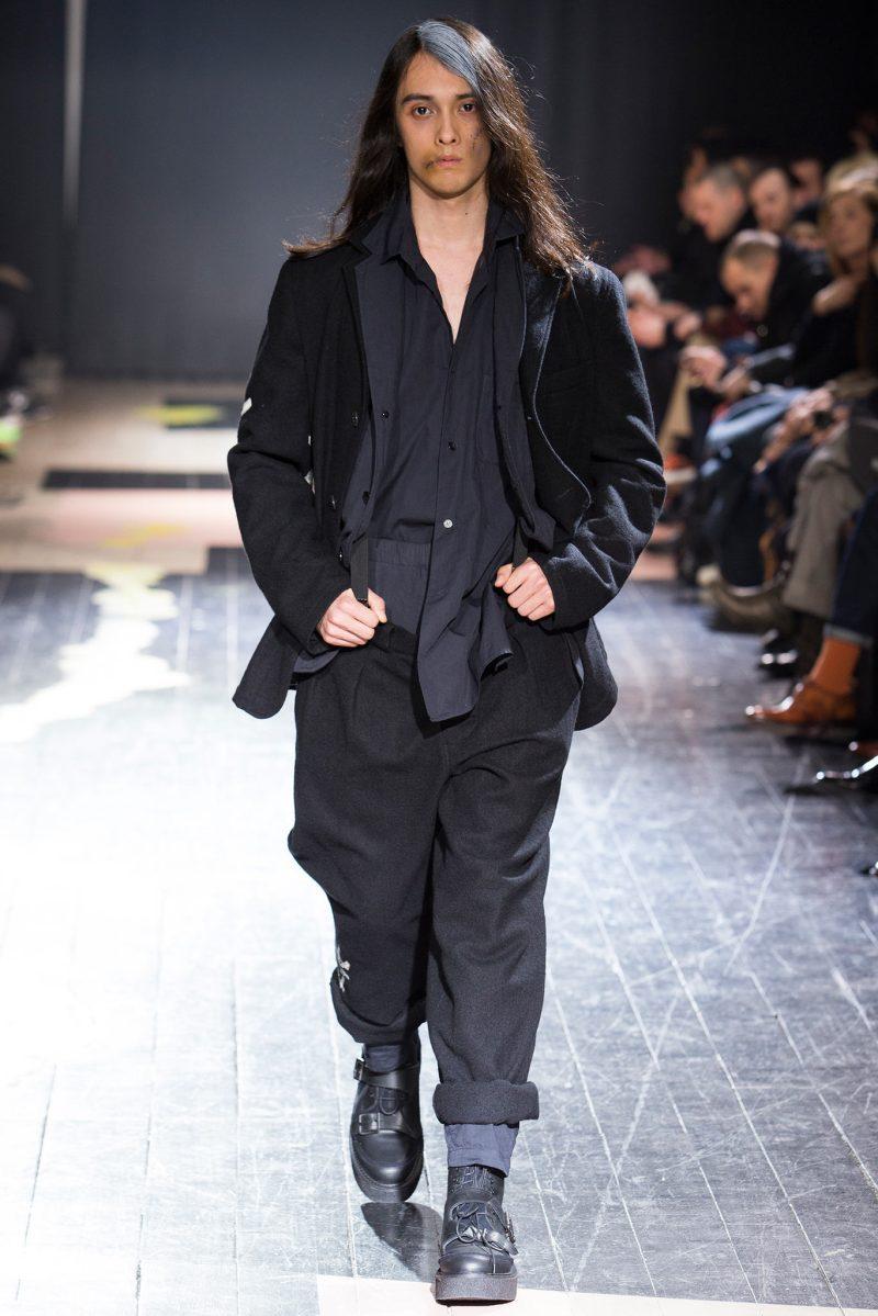 Yohji Yamamoto Menswear FW 2015 Paris (4)