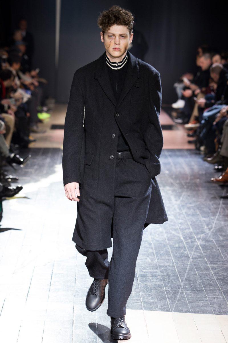 Yohji Yamamoto Menswear FW 2015 Paris (5)