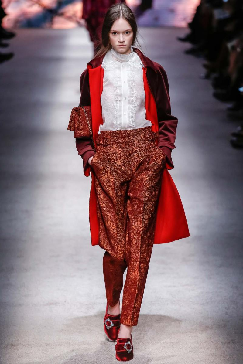 Alberta Ferretti Ready to Wear FW 2015 LFW (18)