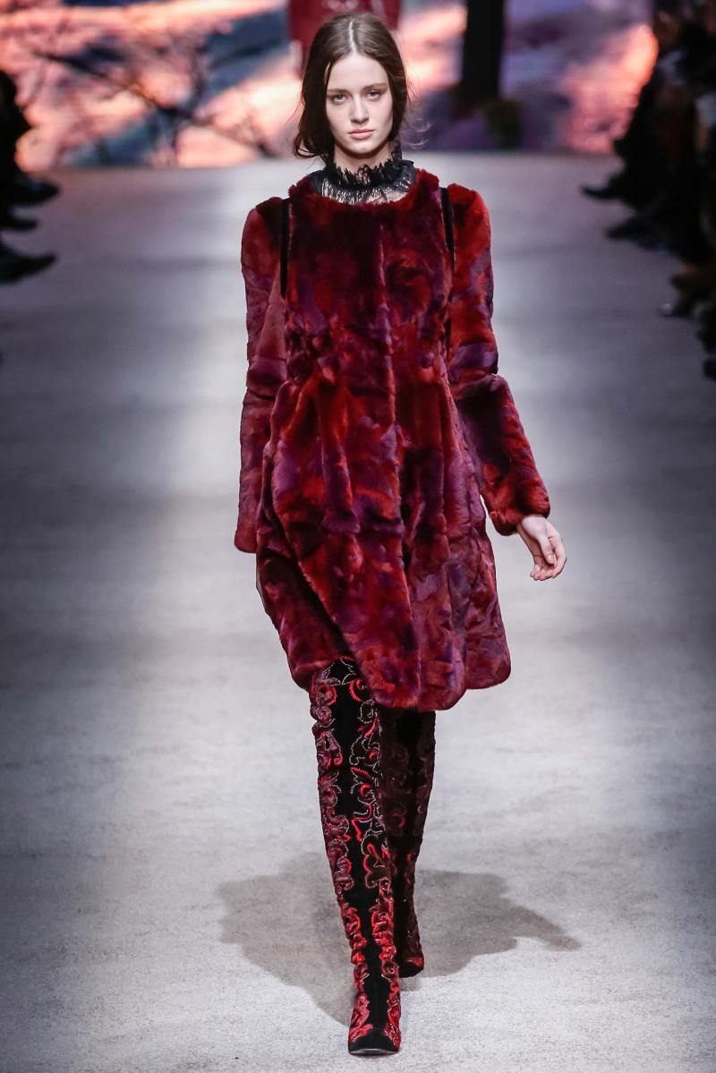 Alberta Ferretti Ready to Wear FW 2015 LFW (19)