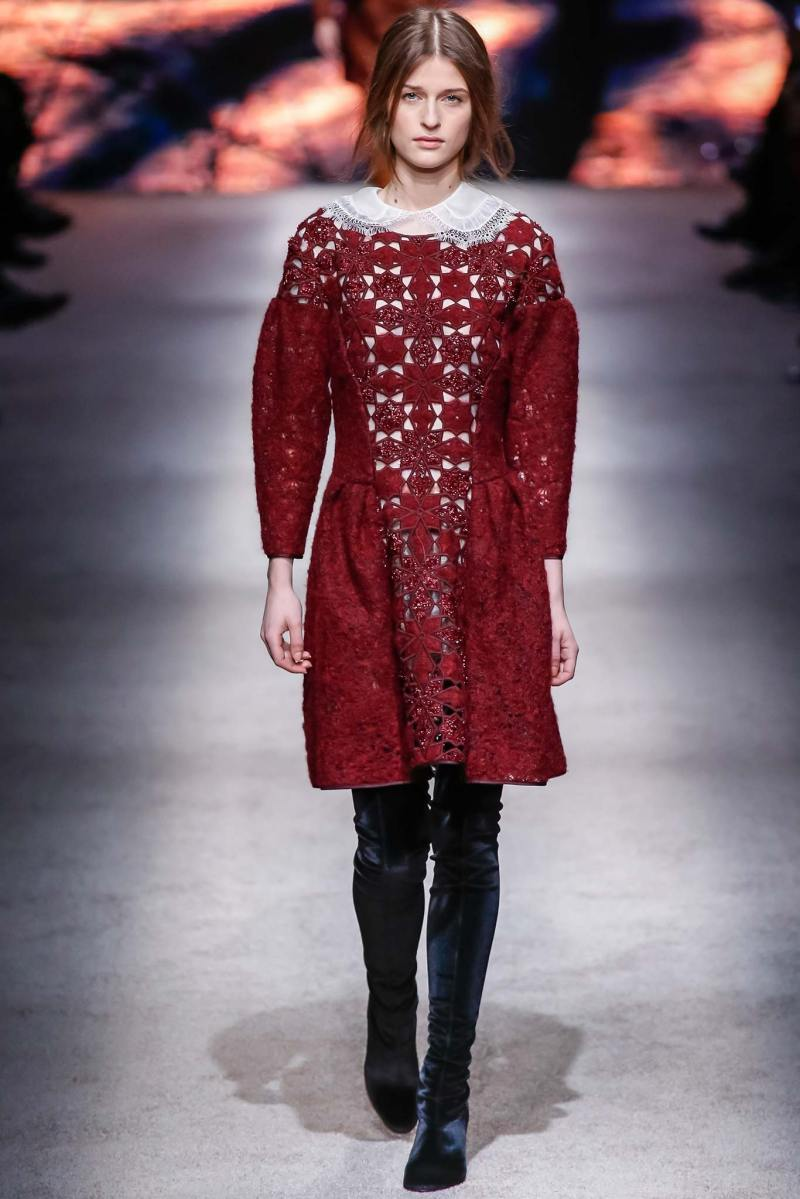 Alberta Ferretti Ready to Wear FW 2015 LFW (20)
