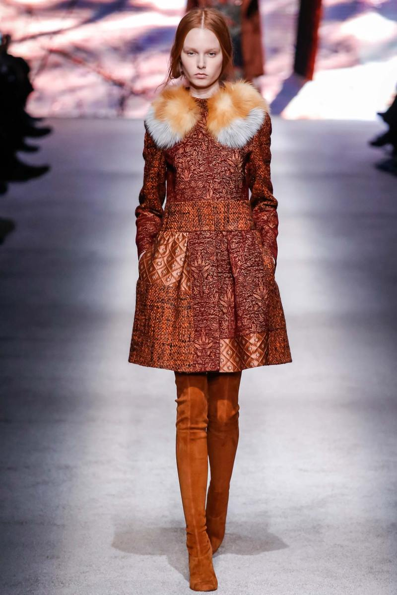 Alberta Ferretti Ready to Wear FW 2015 LFW (25)