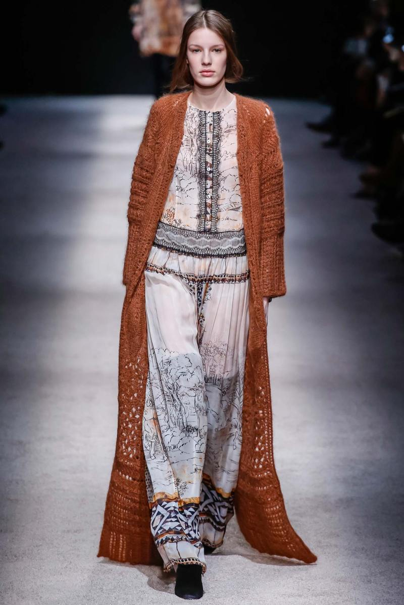 Alberta Ferretti Ready to Wear FW 2015 LFW (36)