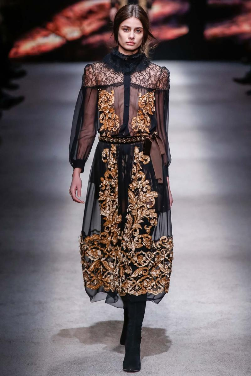 Alberta Ferretti Ready to Wear FW 2015 LFW (39)
