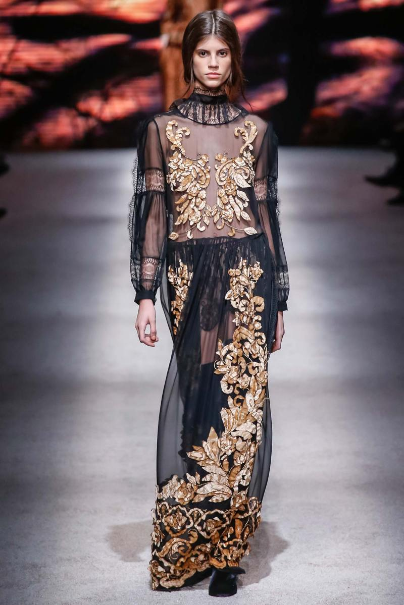 Alberta Ferretti Ready to Wear FW 2015 LFW (40)