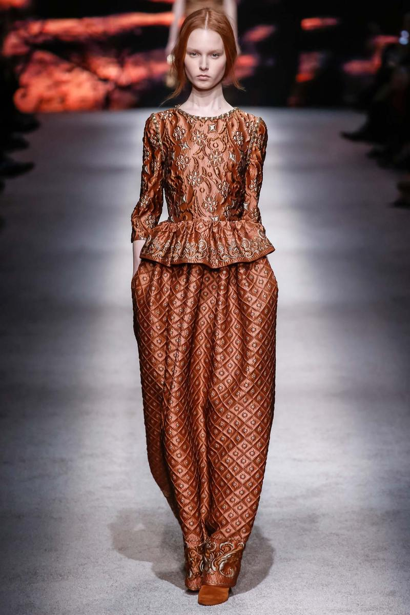 Alberta Ferretti Ready to Wear FW 2015 LFW (41)