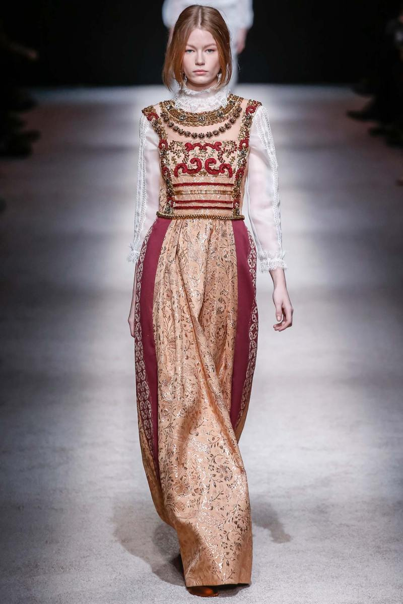 Alberta Ferretti Ready to Wear FW 2015 LFW (44)