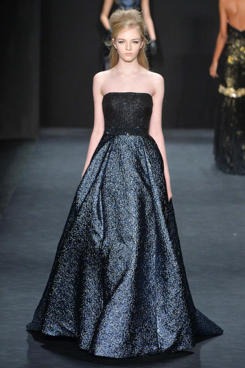 Badgley Mischka Ready to Wear FW 2015 NYFW (12)