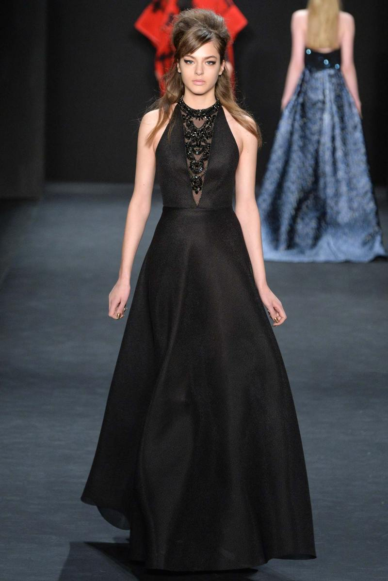 Badgley Mischka Ready to Wear FW 2015 NYFW (14)