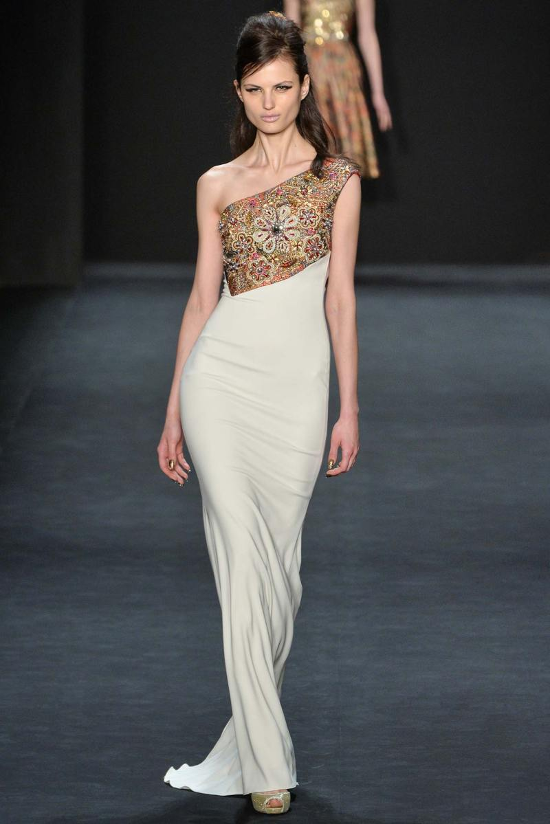 Badgley Mischka Ready to Wear FW 2015 NYFW (22)
