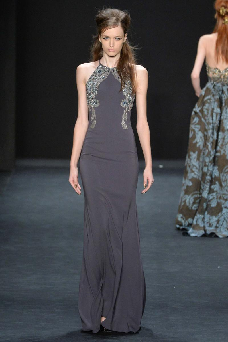 Badgley Mischka Ready to Wear FW 2015 NYFW (29)