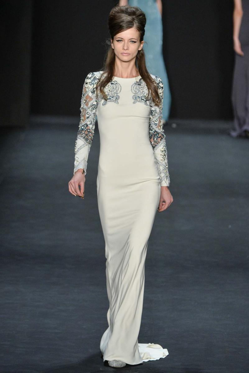 Badgley Mischka Ready to Wear FW 2015 NYFW (31)