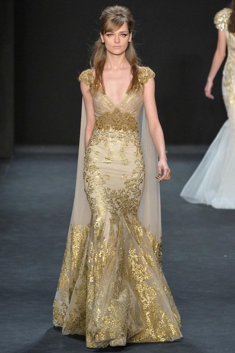 Badgley Mischka Ready to Wear FW 2015 NYFW (36)