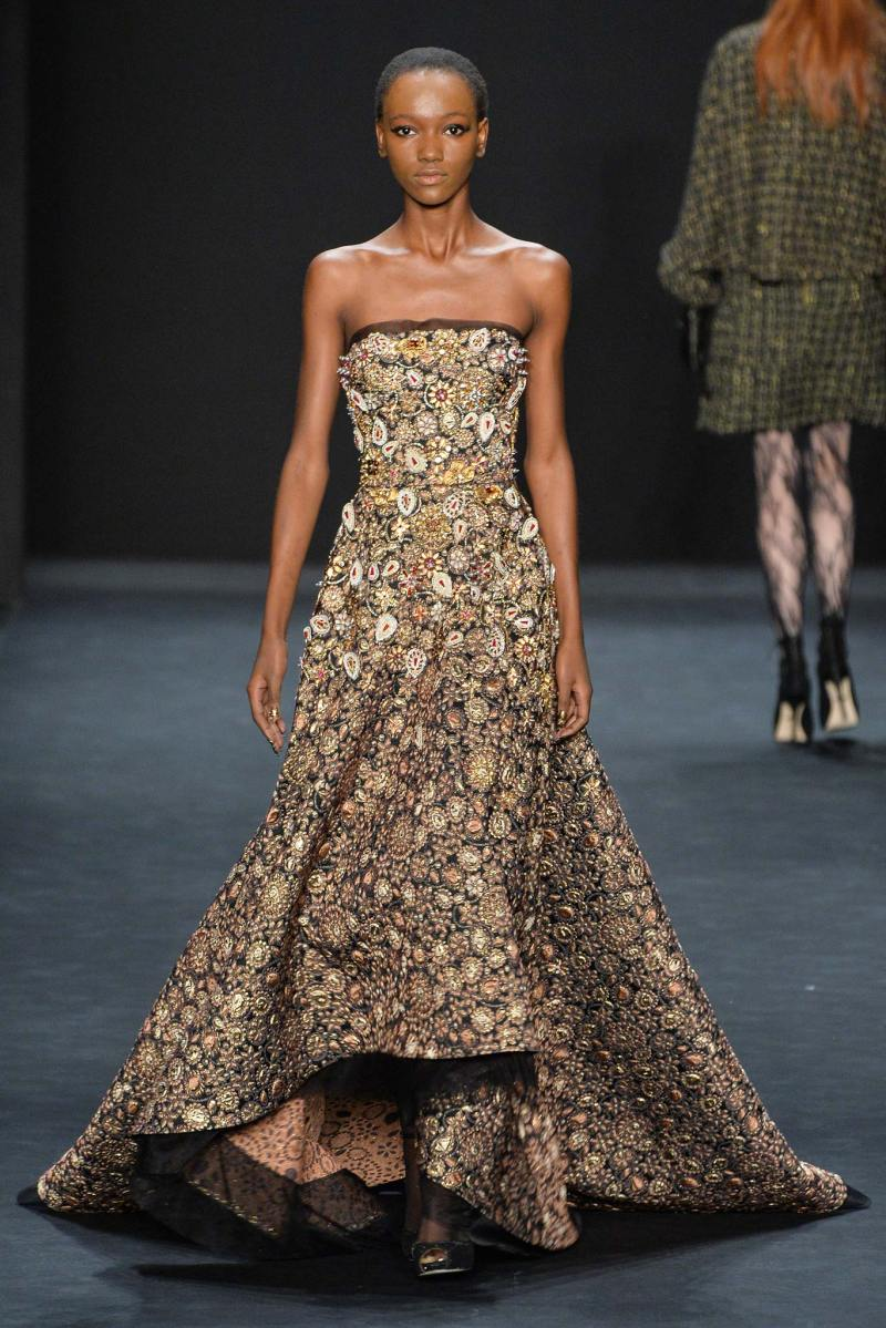 Badgley Mischka Ready to Wear FW 2015 NYFW (8)