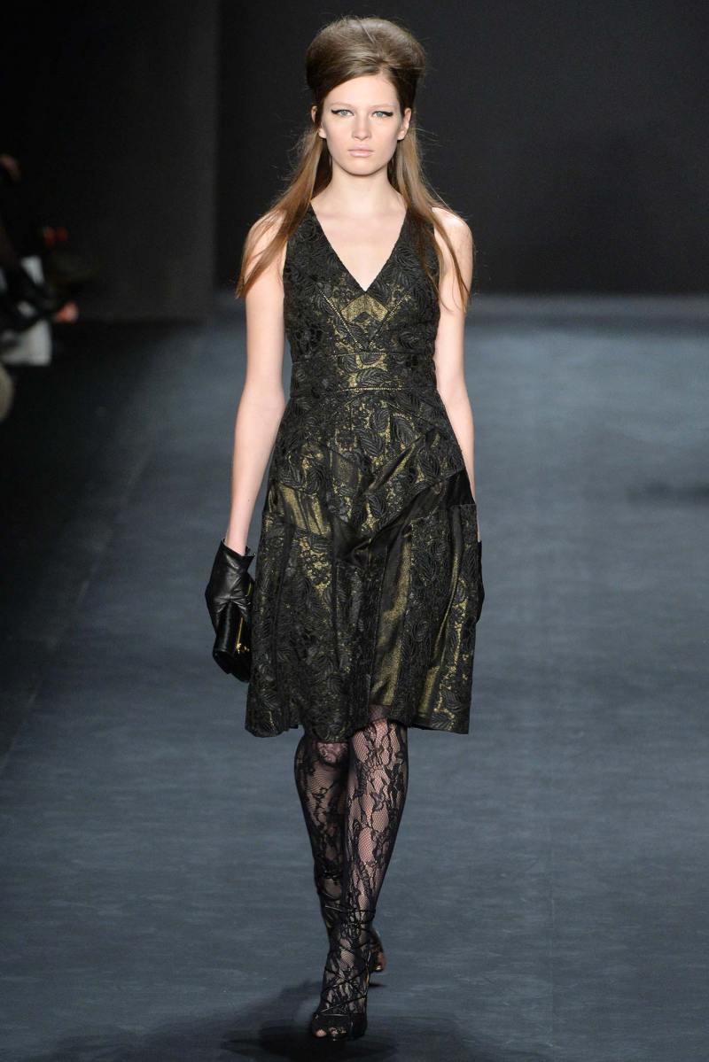 Badgley Mischka Ready to Wear FW 2015 NYFW (9)