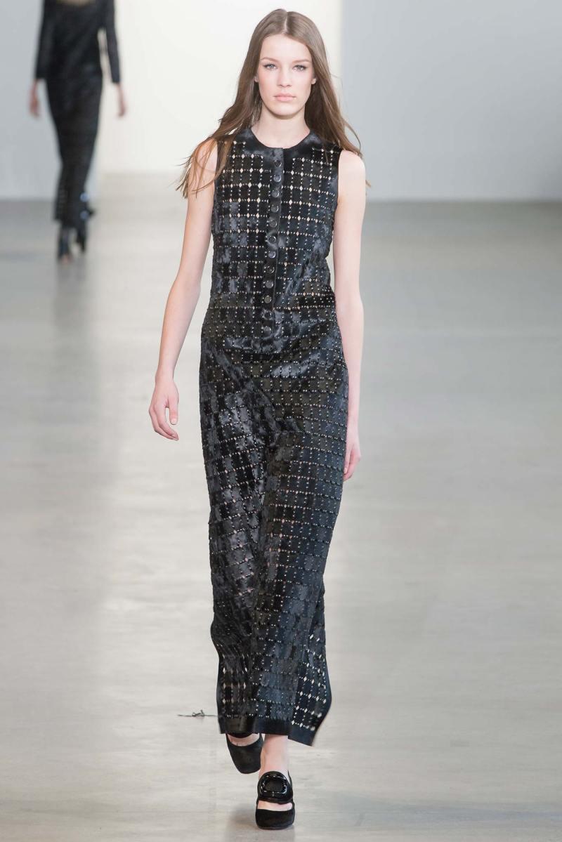 Calvin Klein Collection Ready to Wear FW 2015 NYFW (39)