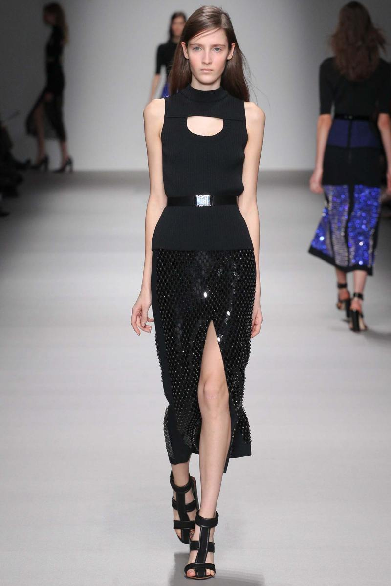 David Koma Ready to Wear FW 2015 LFW (30)