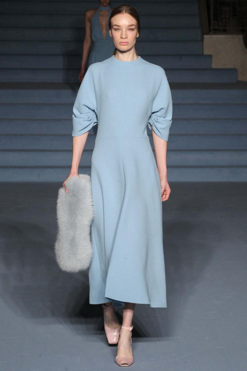 Emilia Wickstead Ready to Wear FW 2015 LFW (16)