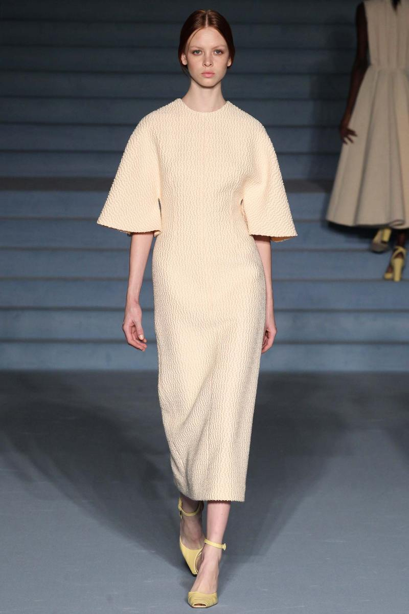 Emilia Wickstead Ready to Wear FW 2015 LFW (5)