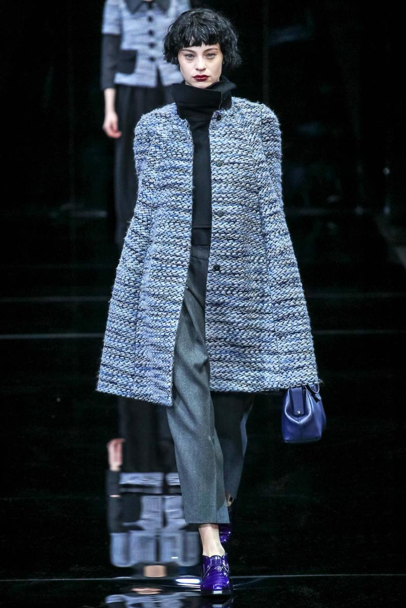 Emporio Armani Ready to Wear FW 2015 MFW (1)