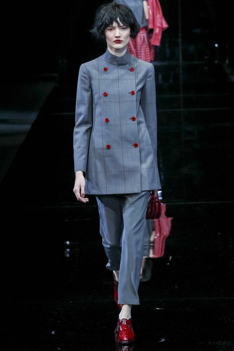 Emporio Armani Ready to Wear FW 2015 MFW (10)